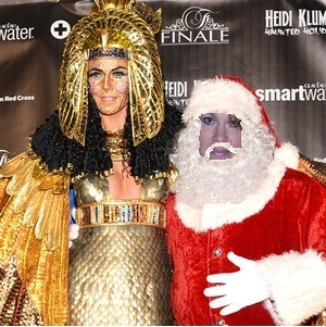 Heidi Klum Halloween Christmas modified