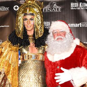 Heidi Klum Halloween Christmas