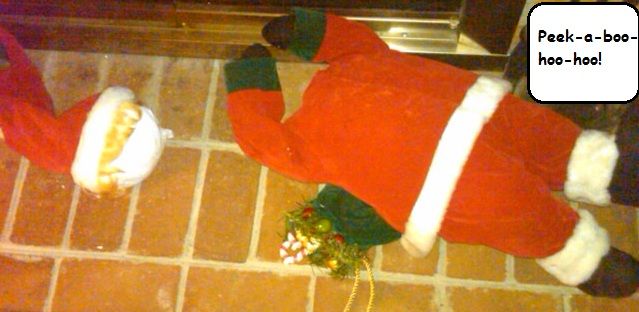 Santa destroyed