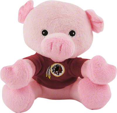 Cat Redskins Pig Toy jcpenney