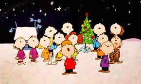 Charlie Brown Christmas singing