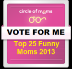 Click here and then press the THUMBS UP button to vote for me.  Vote every 24 hrs until Feb 13!