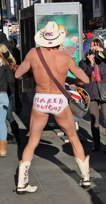 NYC Part 4 Naked Cowboy 1