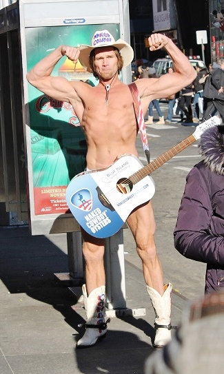 NYC Part 4 Naked Cowboy 2