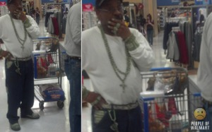 People Of Walmart Money Bling