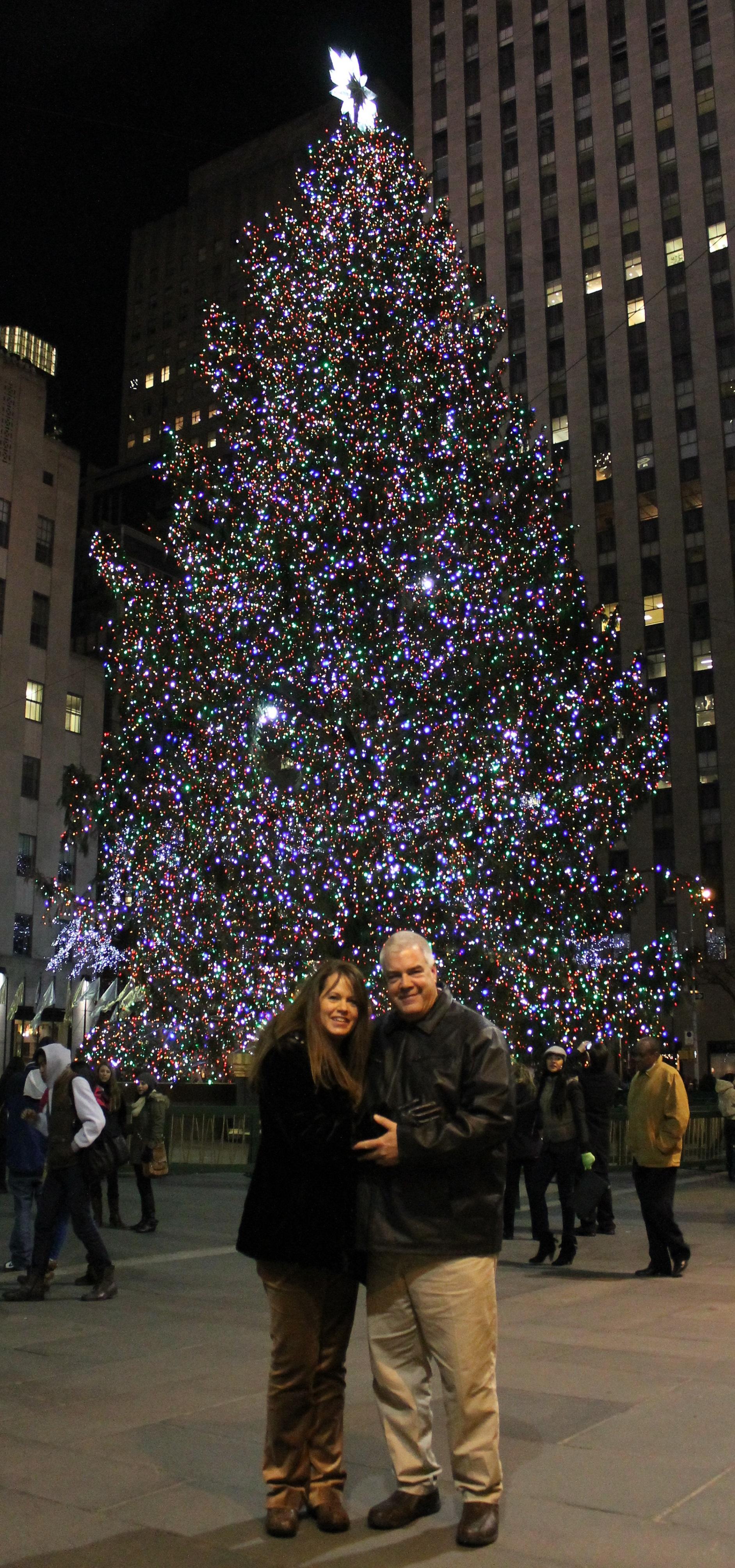 Rockefeller Plaze Christmas Tree