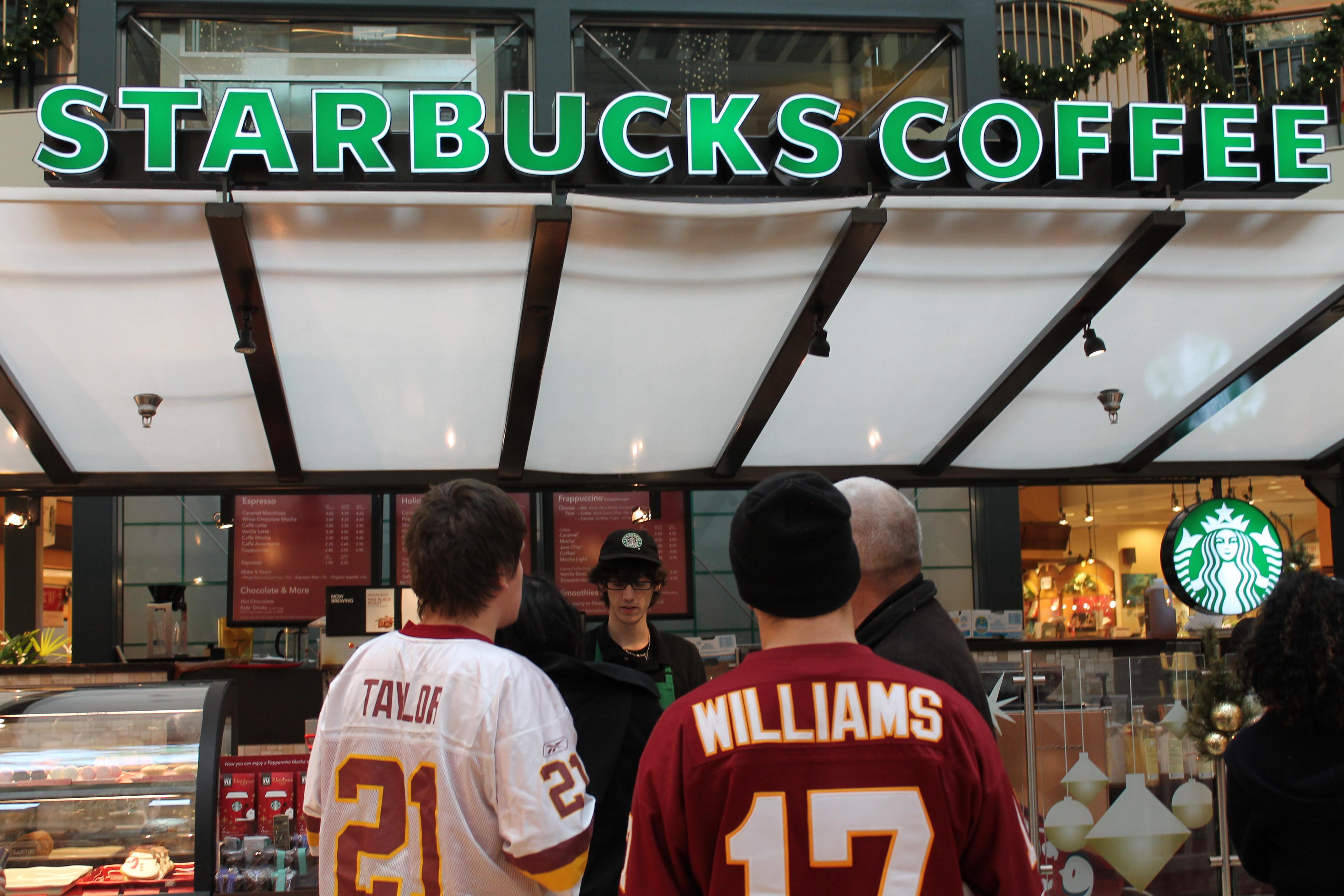 Santa Starbucks bribe