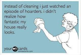 Instead of cleaning watch hoarders