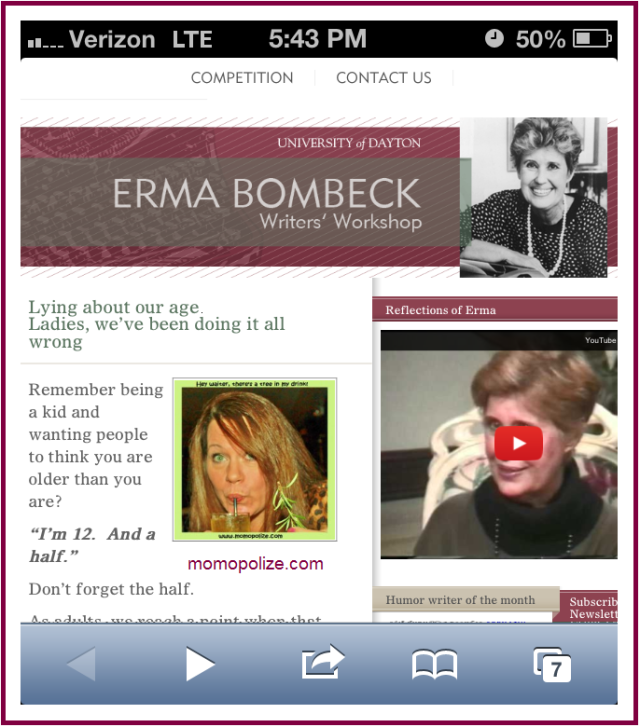 Erma Bombeck featured post