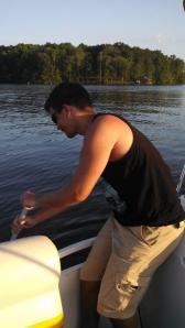 Paddling the broken boat