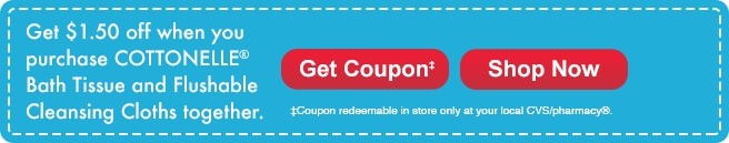 CVS Cottonelle coupon